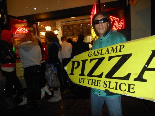 Leaf Smith at Gaslamp Pizza