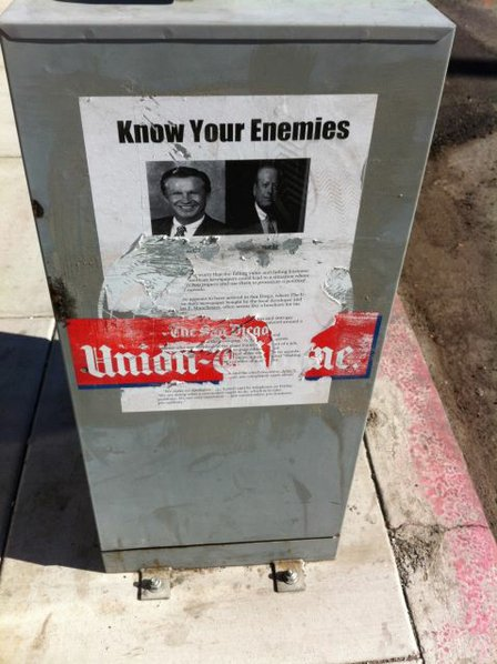Another reason to sue U-T for its Newsracks: Being ugly