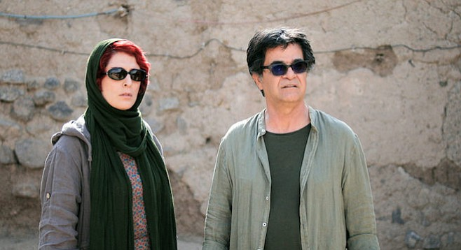 Behnaz Jafari and Jafar Panahi play variations on themselves in the latter's 3 Faces.